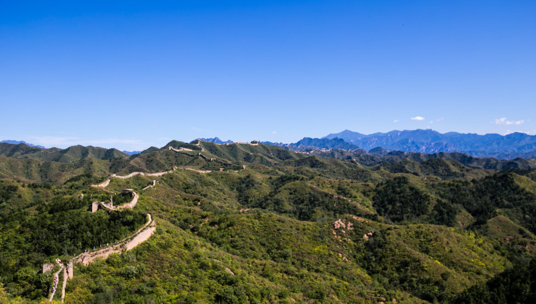 Hiking på Den Kinesiske Mur