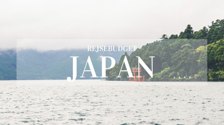 Rejsebudget Japan